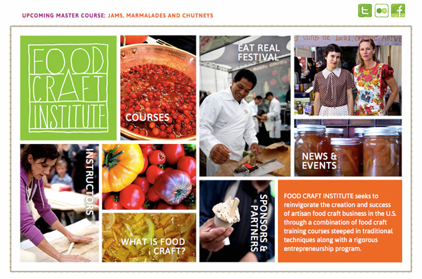 Food Craft Institute Website